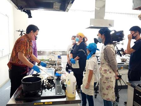 埼玉県三芳町でハラル料理講座を担当
