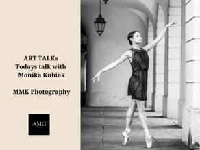 ART TALKs Todays talk with Monika Kubiak, MMK Photography