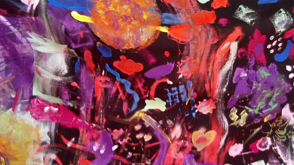 Peinture au centre Maïa autisme