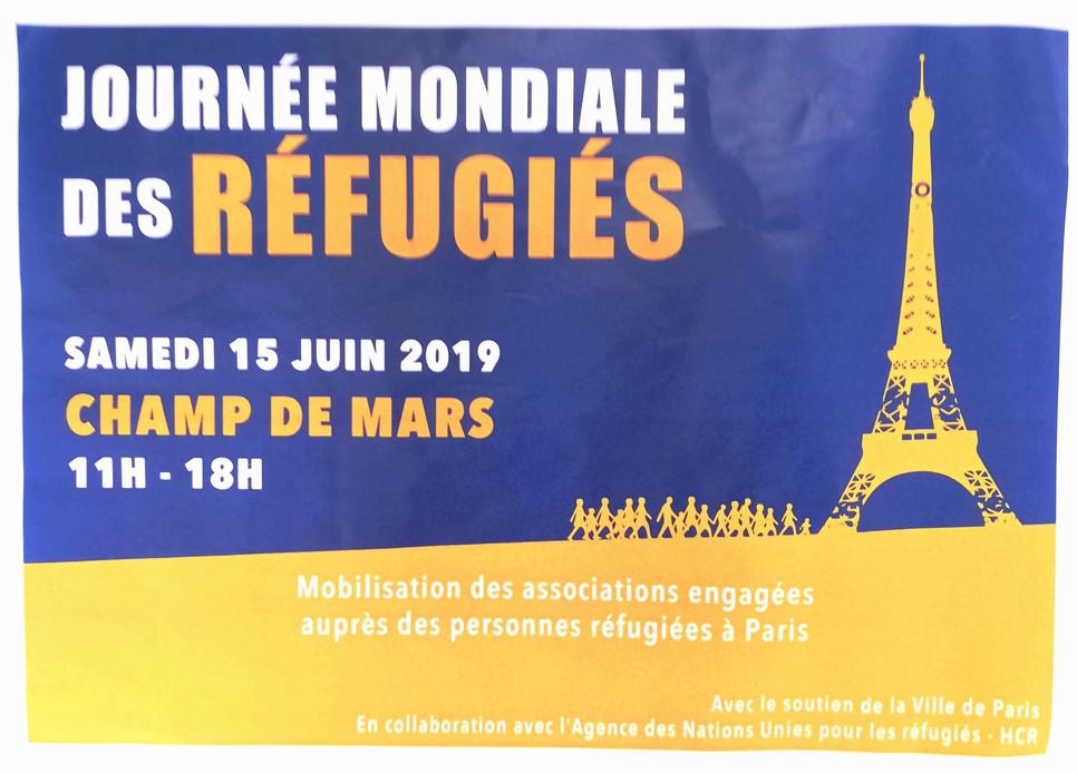 Murs d'Expressions pour La Journée Mondiale des Réfugiés