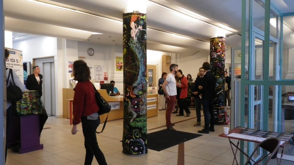 Exposition de peintures collectives à la MDA du 12ème du 20 juin au 3 juillet (Mix'cité)