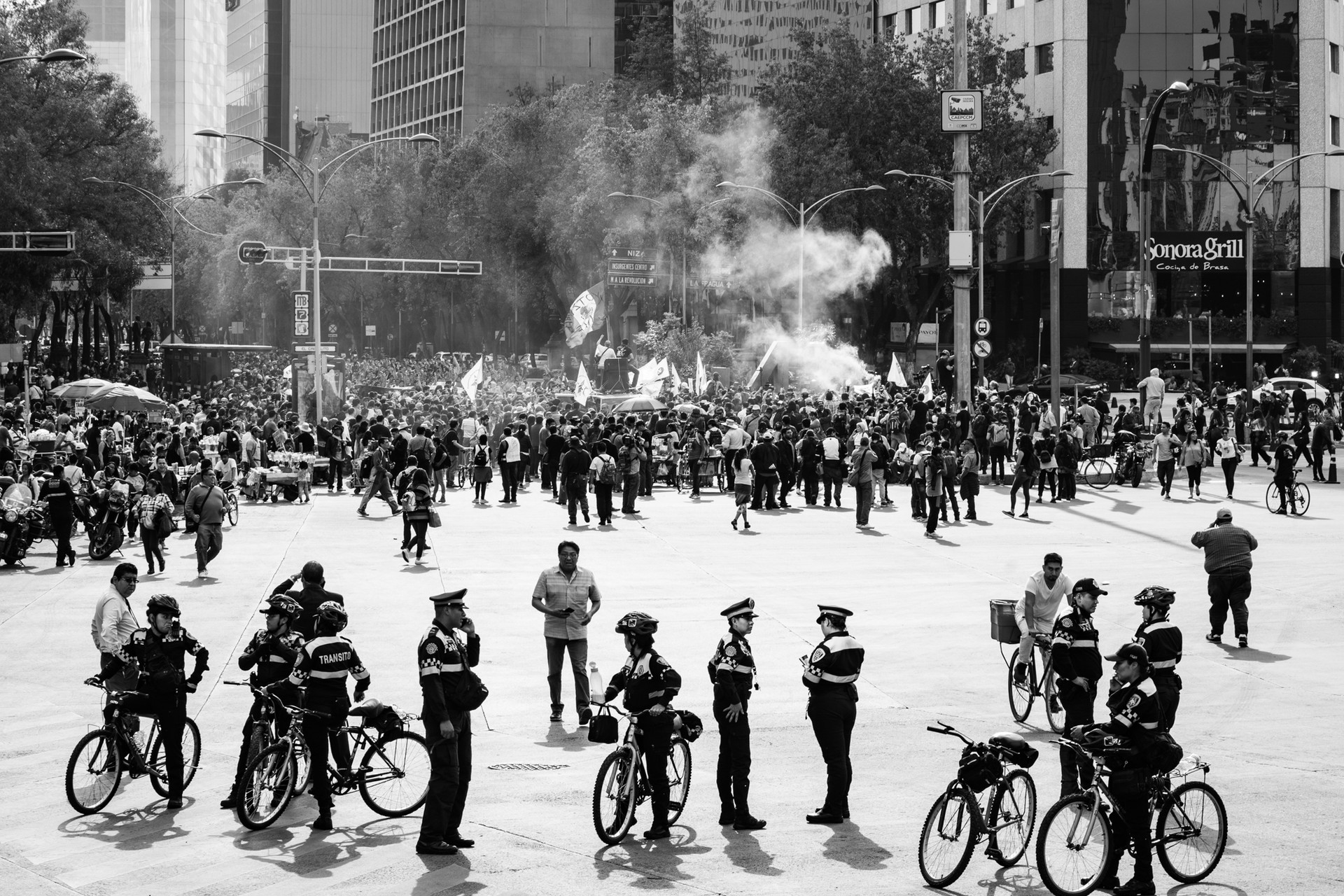 Street protests, Mexico City