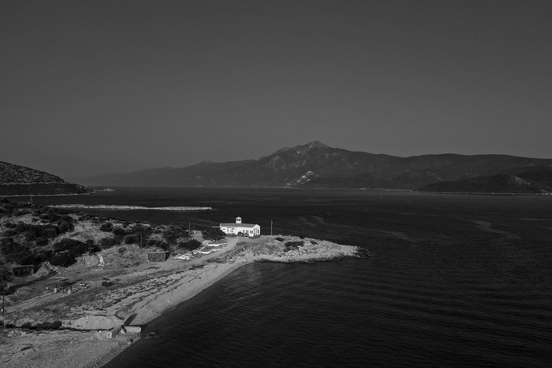 The Greece-Turkey sea border
