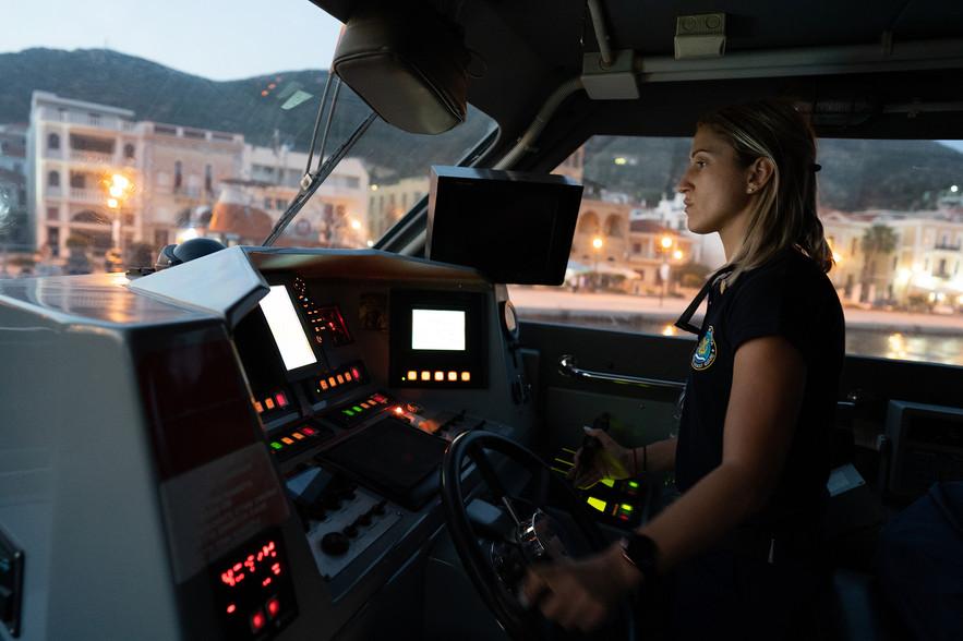 Hellenic Coast Guard night patrols