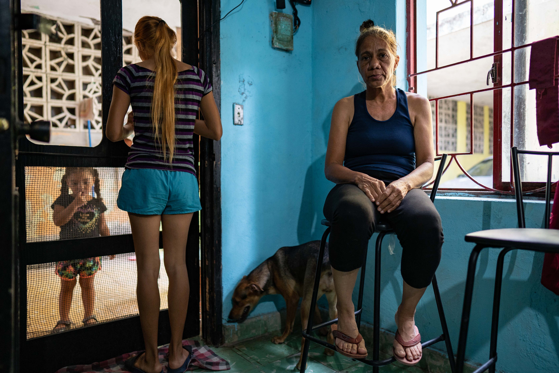Mileydis' home in Matamoros