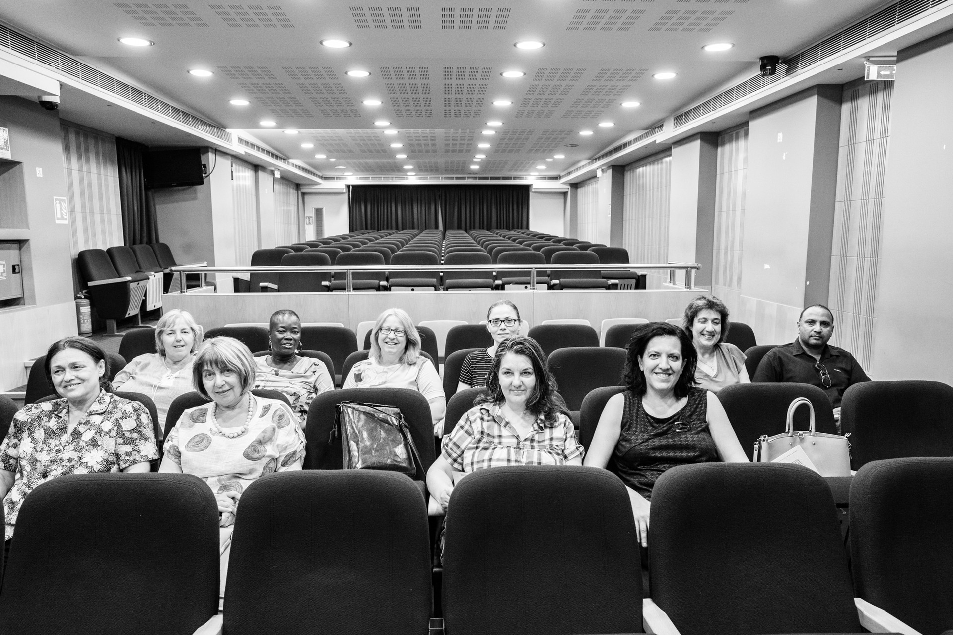 Female migrant engineers conference, Athens