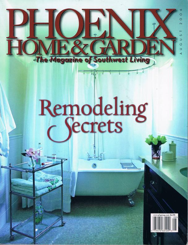 PHOENIX HOME&GARDEN article