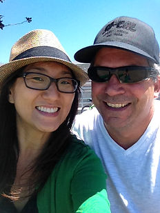 Jeeyoung and Jim of PINNELLA KAHNG architecture studio LLC