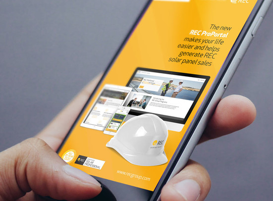 REC Group launches ProPortal, a new platform, in five languages in a worldwide campaign.