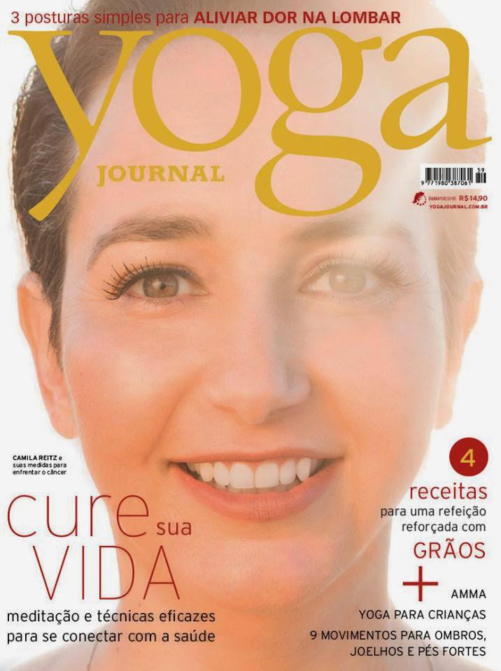 Capa Yoga Journal - 2013