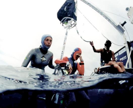 Preparação do mergulho profundo