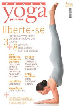 Capa Yoga Journal - Agosto 2010