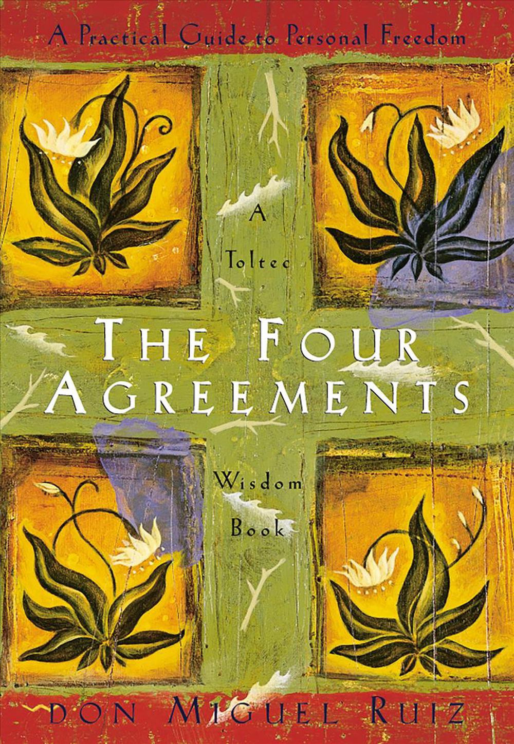 The four agreements by Don Miguel Ruiz book cover