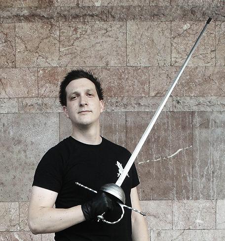Predrag Agatonović, instruktor i osnivač PERO škole mačevanja