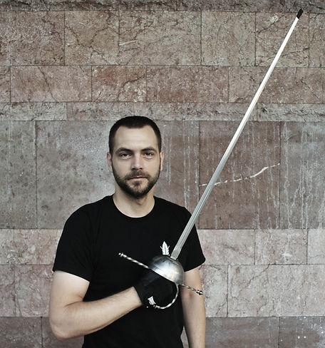 Predrag Žakula, instruktor i osnivač PERO škole mačevanja