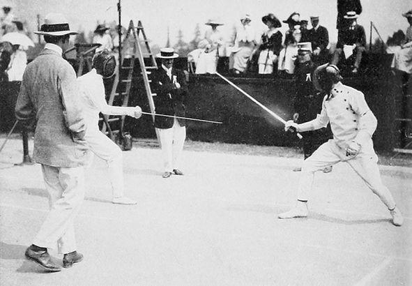 Mačevanje na olimpijskim igrama 1912