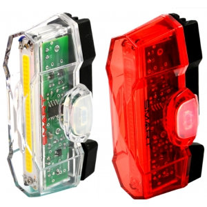 Smart Vulcan LED USB Rechargeable Twinset Front and Rear Lights
