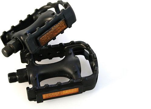 Standard plastic pedals - 9/16 inch thread