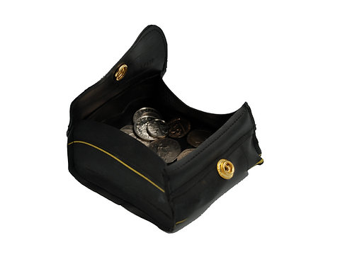 Cycle of Good - Recycled inner tube pop-up purse