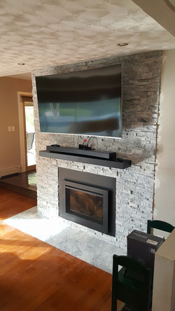 Front Side of Fireplace AFTER