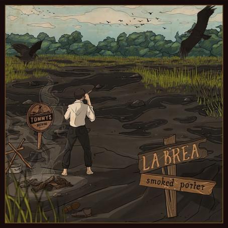 New release: la Brea Smoked porter