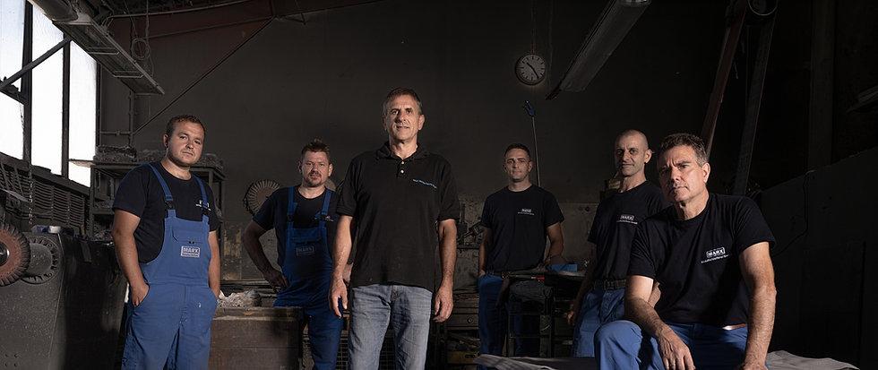 Marx Metallschleiferei Team