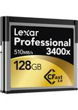 Lexar 3400x 128GB CFast 2.0 Memory Card.