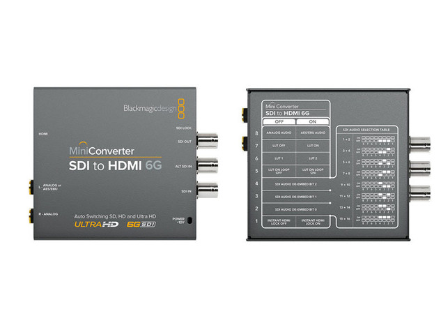 Mini Converter SDI to HDMI Blackmagic De