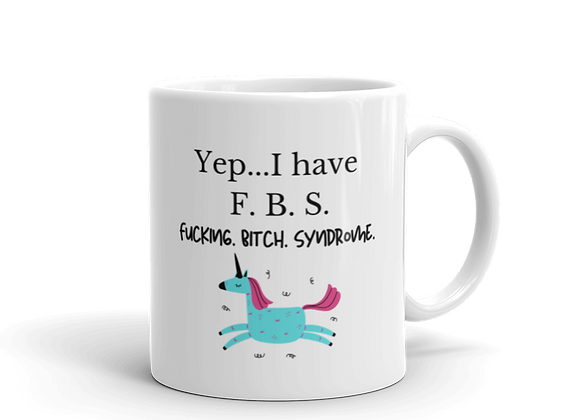 F. B. S. Mug