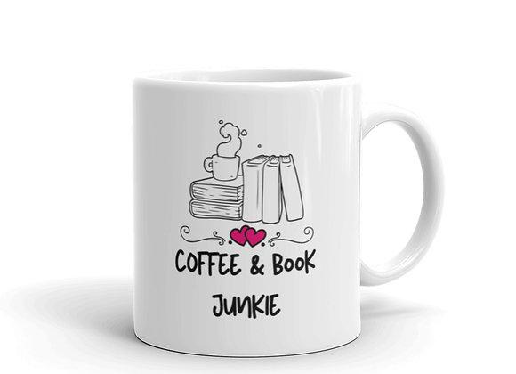 Coffee & Book Junkie Mug