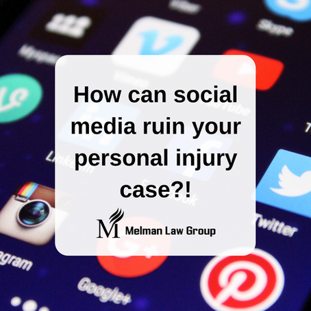How social media can ruin your car accident case.