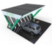 Solar integrated EV charging station