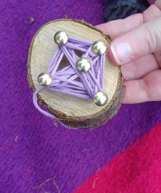 Making things from wood and threads