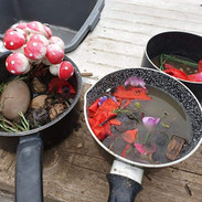 Cooking up outdoors