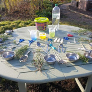 Little Foresters table