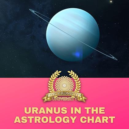 Uranus in the Astrology Chart