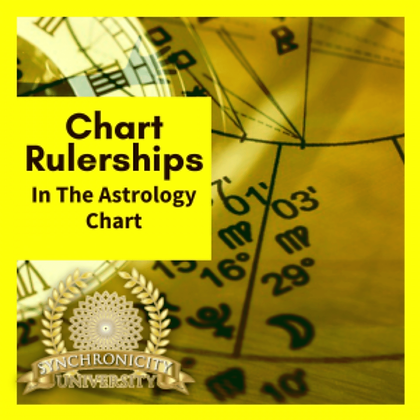 Chart Rulerships in the Astrology Chart