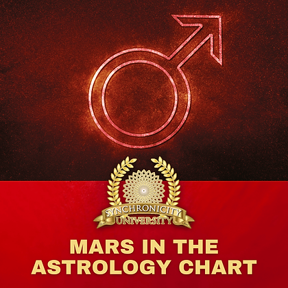 Mars in the Astrology Chart