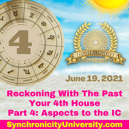 Reckoning With The Past - Your 4th House Part 4: Aspects to the IC