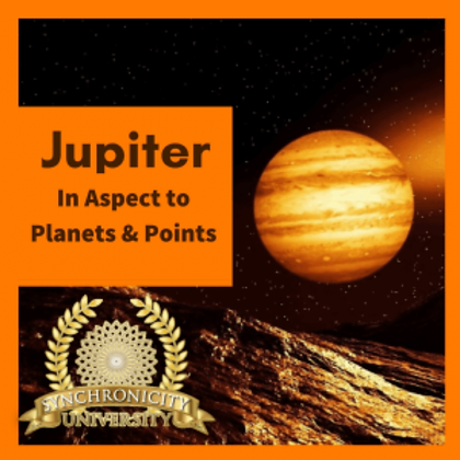 Jupiter in Aspect to Planets and Points