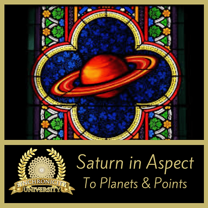 Saturn In Aspect: To Planets and Points