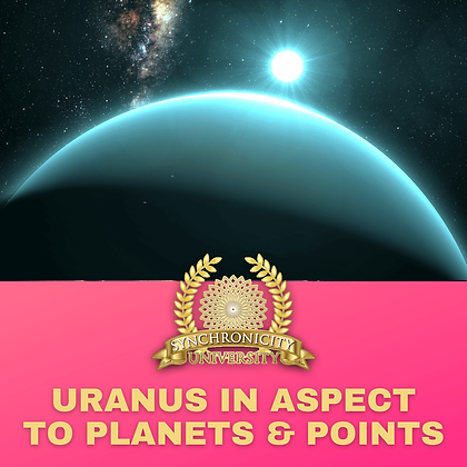 Uranus in Aspect to Planets and Points