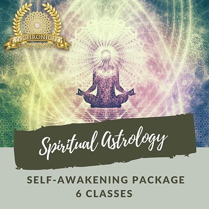 Spiritual Astrology - Self-Awakening - 6 Classes - Save $35