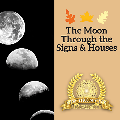 The Moon Through the Signs and Houses