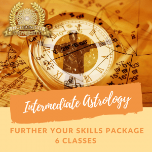 Intermediate Astrology - Further Your Skills - 6 Classes Save $35