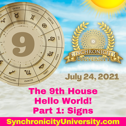 The 9th House - Hello World! Part 1: Signs
