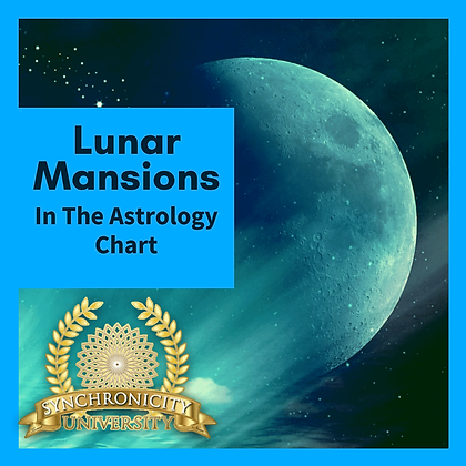 Lunar Mansions in the Astrology Chart