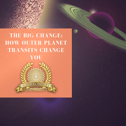 The Big Change: How Outer Planet Transits Change You