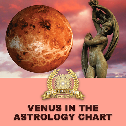 Venus in The Astrology Chart
