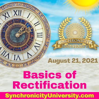 Basics of Rectification